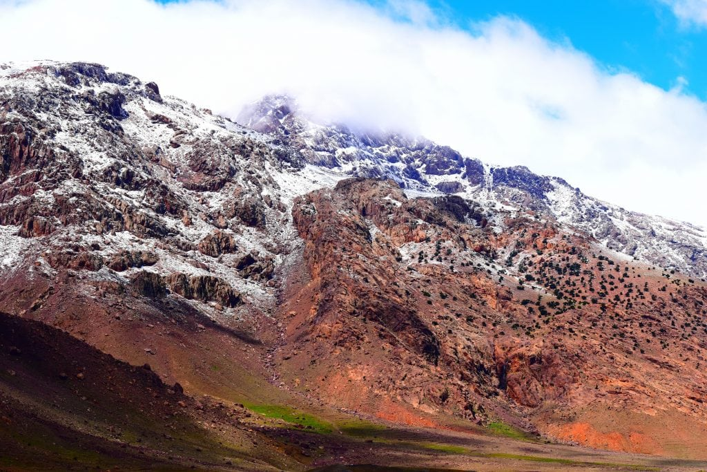 The Atlas Mountains in Morocco are a top elopement destination for adventurous families.